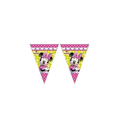 Minnie Mouse Bowtique Party Flag Banner Plastic: Toys & Games