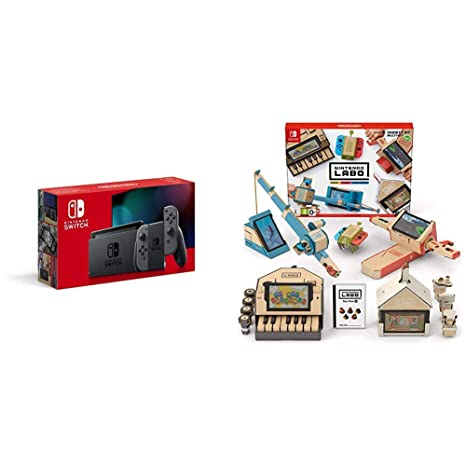 Nintendo Switch - Consola color Gris (Modelo 2019) + Labo ...