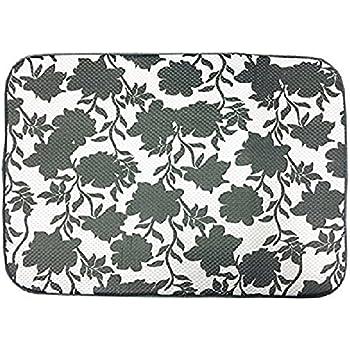 Amazon Com The Original Dish Drying Mat Floral Kitchen