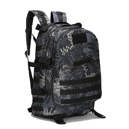 AAJZ Mochilas Tácticas Militares Molle Senderismo Daypacks Camping Senderismo Travelling Daypack Laptop Bag PUBG Mochila Escolar