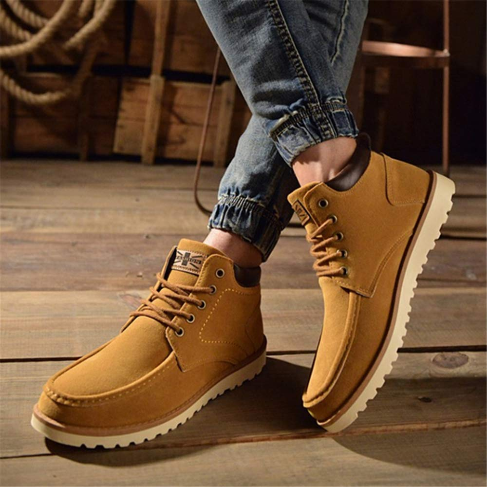 Mens Autumn Winter Lace Up Martin Ankle Boot Work Hiking Trail Biker Shoes