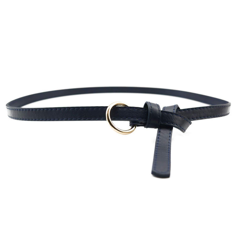 OnIn Buckle Women Ladies Belts,OneSize,Navy