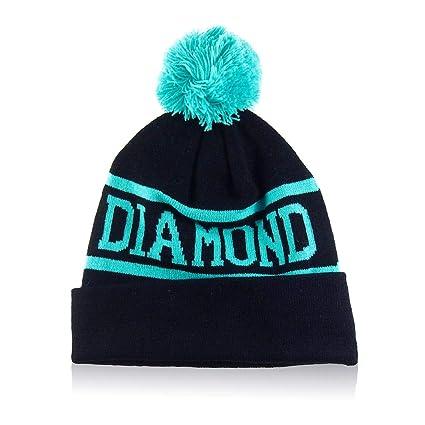 Amazon.com  Wrea Winter Men Women Cap Diamond Pattern Gorro Beanies ... bf5507781330