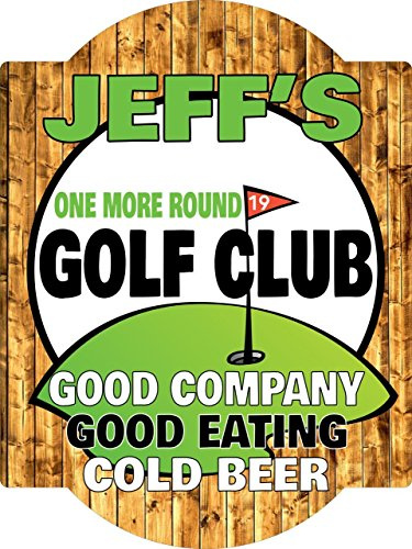 - Personalized Golf Sports Bar Wall Sign