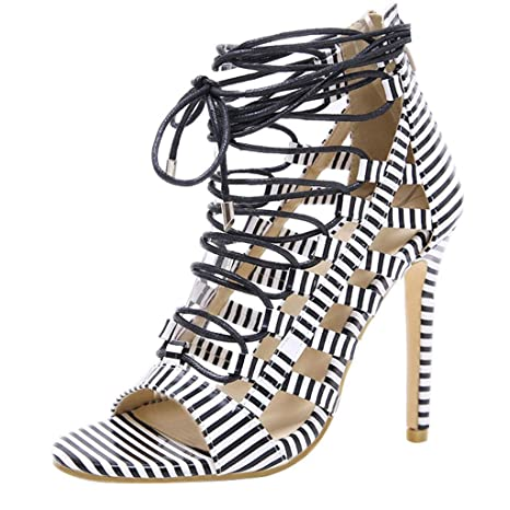 400aab2d6 Image Unavailable. Image not available for. Color: Women Gladiator Sandals  ...