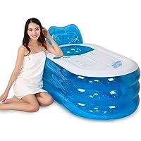 sunjun & bañera hinchable más gruesa adultos bañera