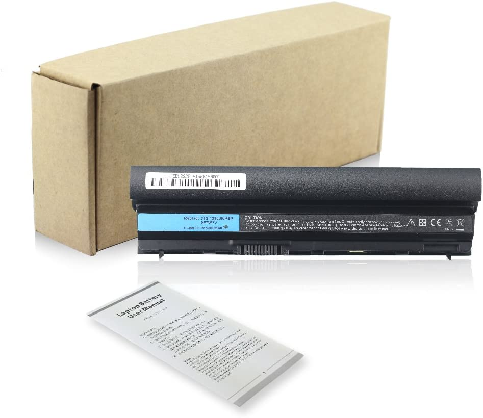 Bay Valley Parts/®New Laptop Battery for Dell Latitude E6120 E6220 E6230 E6320 E6320 XFR E6330 E6430S Li-ion 6 Cell 11.1v 5200mAh//58WH 12 month warranty