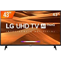 "Smart TV TV LED 43"" LG ThinQ AI Full HD 3LM631C0SB, 3 HDMI, 2 USB, Wi-Fi, Conversor Digital"
