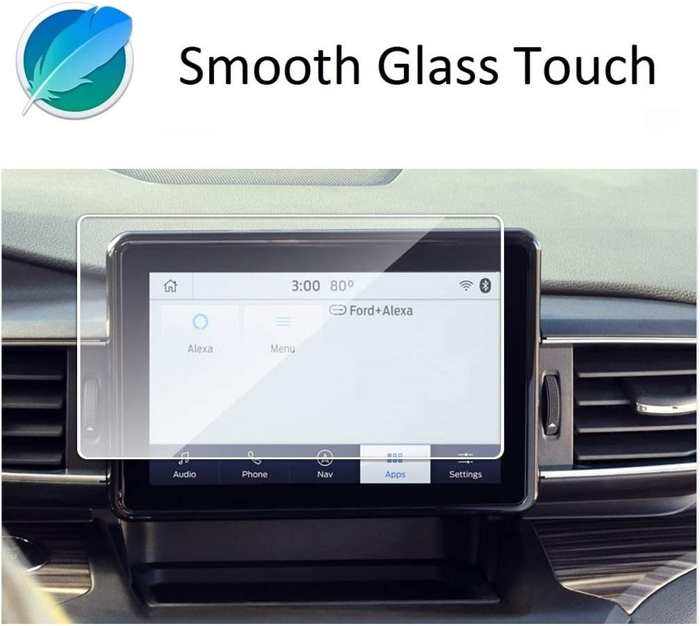 SYNC3 8 Inch Touch Screen,Wonderfulhz,Anti Scratch,Shock-Resistant,Premium Tempered Glass Screen Protector Compatible with 2020 2021 Ford Explorer