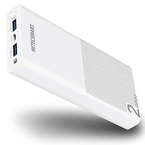Metecsmart - Cargador portátil para iPhone, iPad, Samsung ...