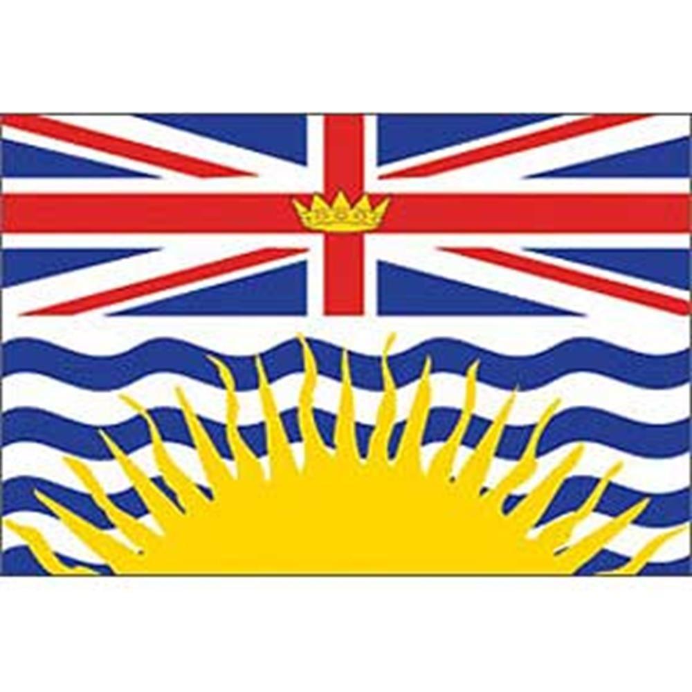 12in x 18in EagleEmblems F8123 Flag-Canada,British COL