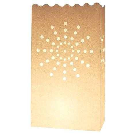 20 pcs sol diseños velas bolsa con linterna jardín ...