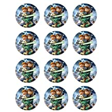 Lego Star Wars Cupcake Toppers - Set of 12 by Cake Topper Designs