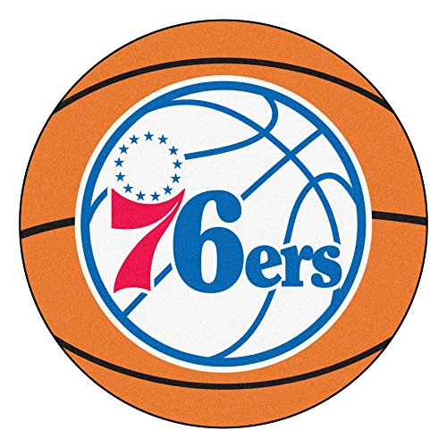 Fanmats NBA - Philadelphia 76ers Basketball Mat