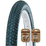 KENDA Kontact K841 Tire - Urban / City / Street / Ramp / BMX Tread Style - Black - All Sizes - FREE SHIPPING - FREE VALVE CAP UPGRADE WORTH $4.99!