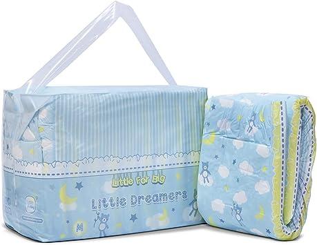 LittleForBig gedruckt Erwachsenen Slip Windeln Erwachsene Baby Windel Liebhaber ABDL 10 St/ück-Baby Cuties M