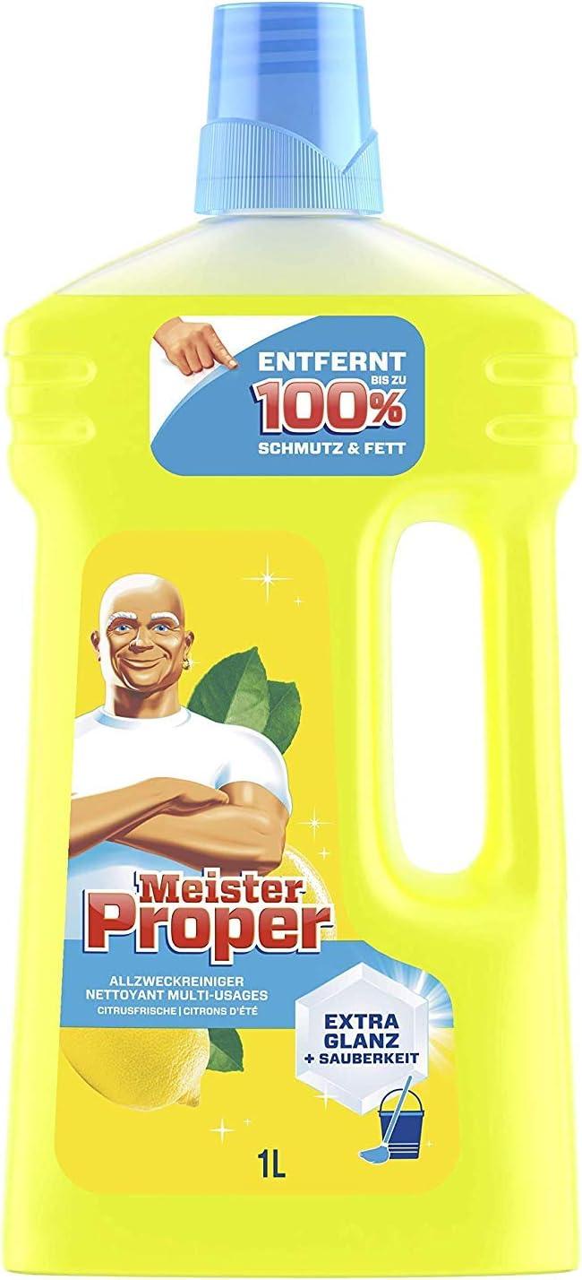 Limpiador multiusos de la marca Meister Proper, aroma a cítricos