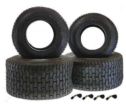 Juego de neumáticos para cortacésped Tractor 2 x Neumáticos 16,65 ...