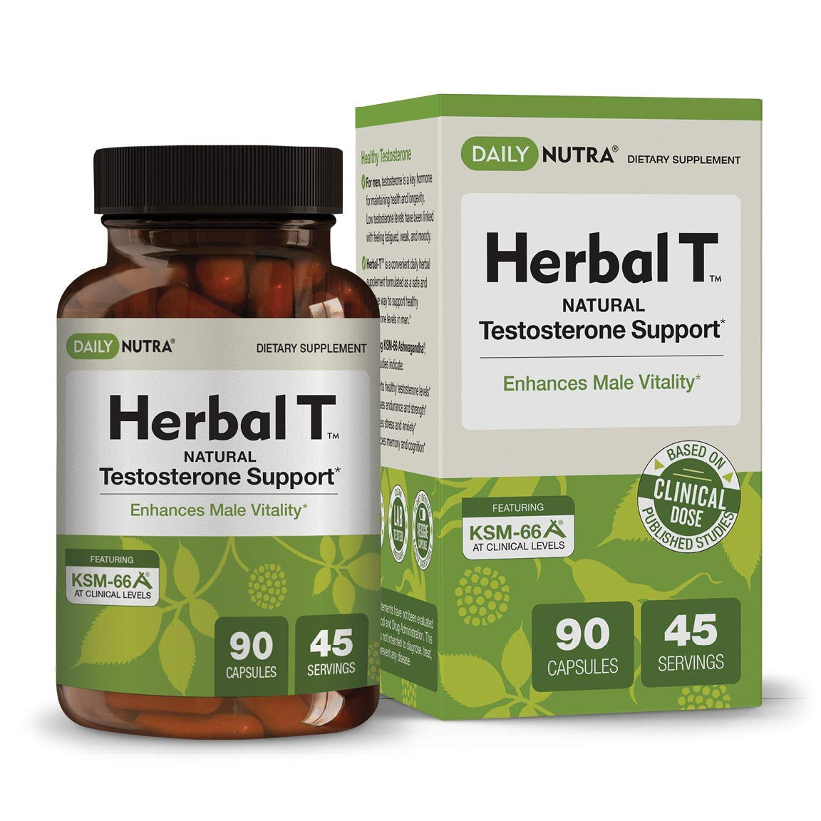 Herbal T Natural Testosterone Booster