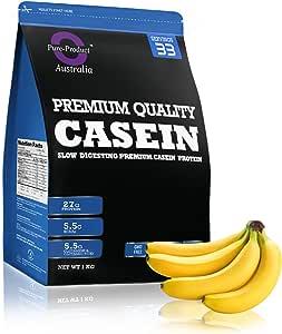 Pure Product Australia Micellar Casein, Banana 2 kilograms