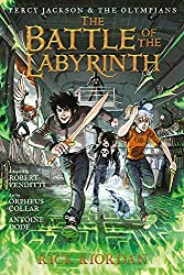 Percy Jackson and the Olympians The Battle of the Labyrinth: The Graphic Novel (Percy Jackson & the Olympians)