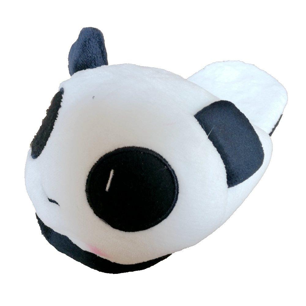 GR Pantofole Sveglio del Panda Pantofole domestiche di Inverno con Il Velluto di Corallo Superiore di Alta qualità e l'outsole Anti-Skip Panda1