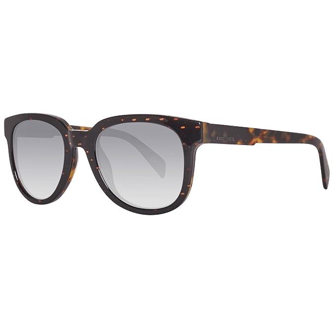 Diesel Sonnenbrille DL0137 5274C, Gafas de sol Unisex Adulto ...