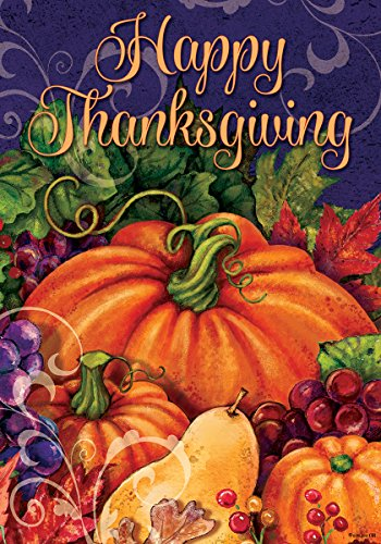 Happy Thanksgiving Blessings Standard Decorative