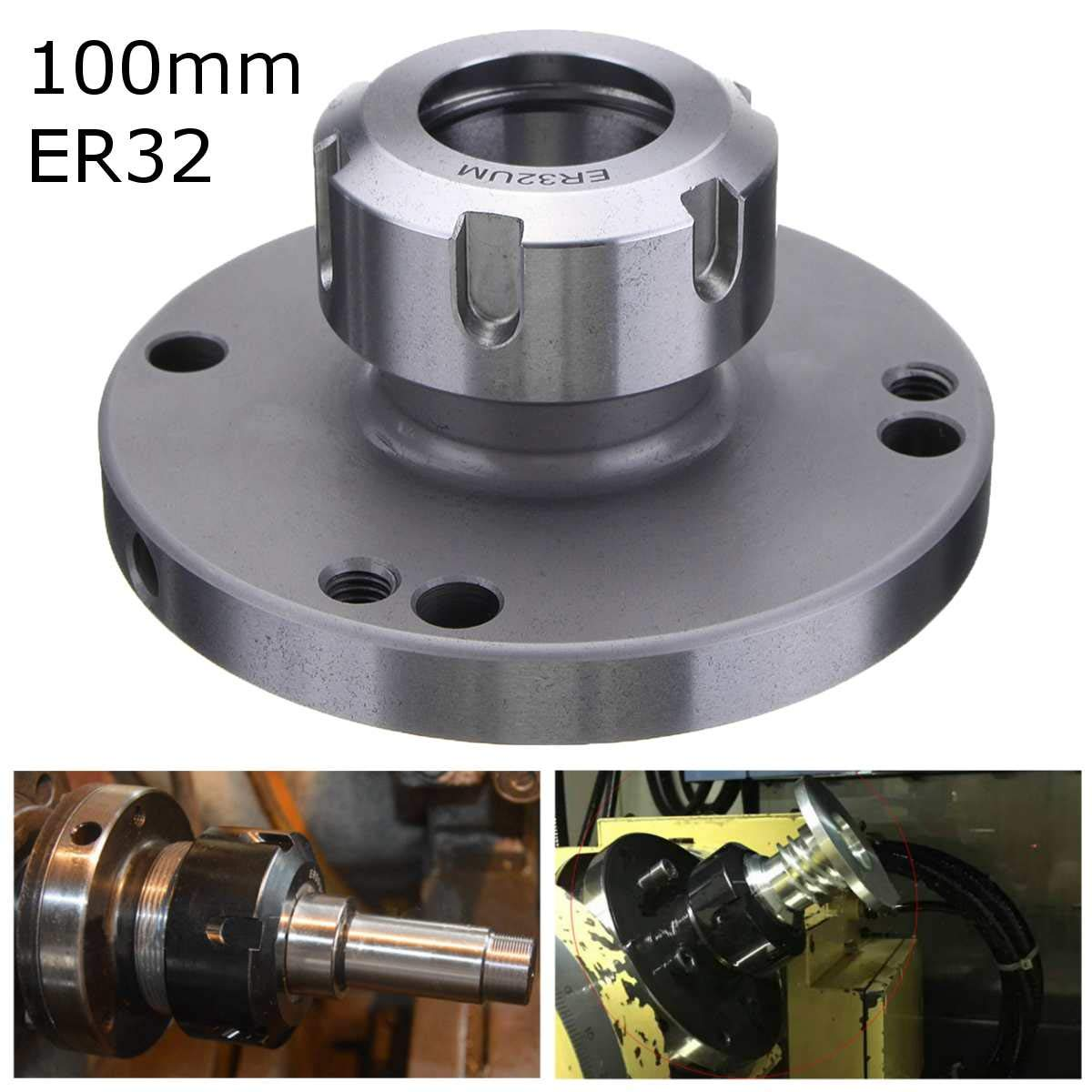 100mm Diameter ER-32 Collect Chuck High Speed Steel /& 41Cr4 Milling Tools Parts