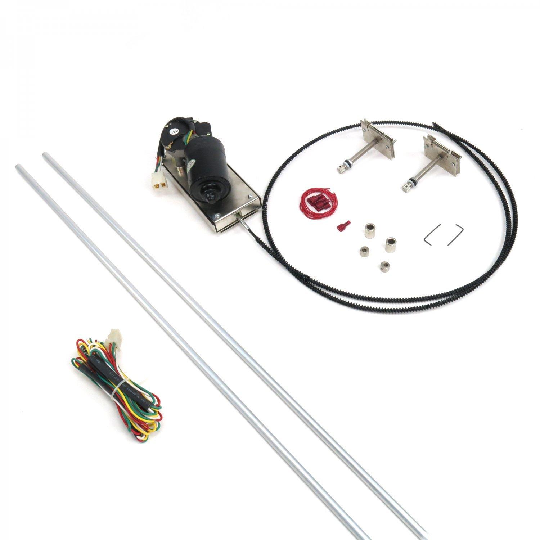 AutoLoc WIPER2 Heavy Duty Power Windshield Wiper Kit by Autoloc (Image #1)