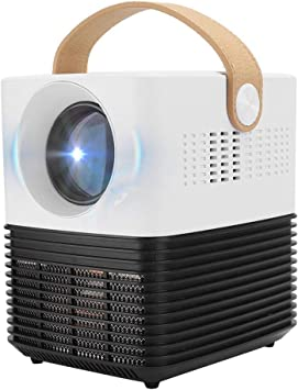 Opinión sobre Mini proyector, 1080P 2500lm LED Proyector de Bolsillo, con módulo avanzado Batería Recargable de 3000mAh, Altavoces Dobles Vida útil 30,000h para proyector de Cine en casa