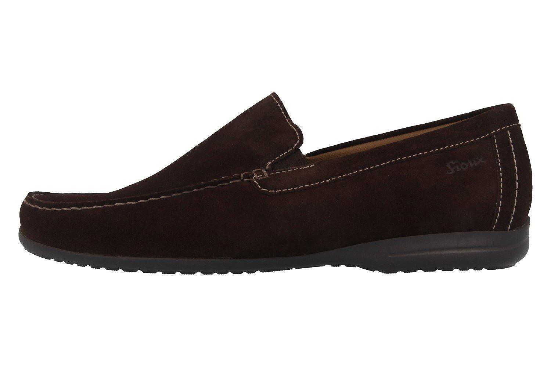 Sioux - Mocasines de Piel para hombre Marrón marrón, color Marrón, talla 40 UE: Amazon.es: Zapatos y complementos