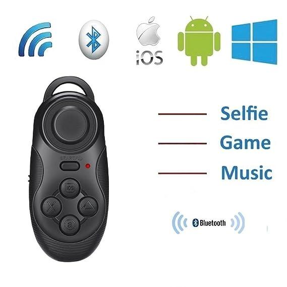 aac326d374c ddLUCK Wireless Gamepad & Selfie Shutter Remote VR BOX's Partner Gamepad  Joystick Controller Selfie Remote Shutter