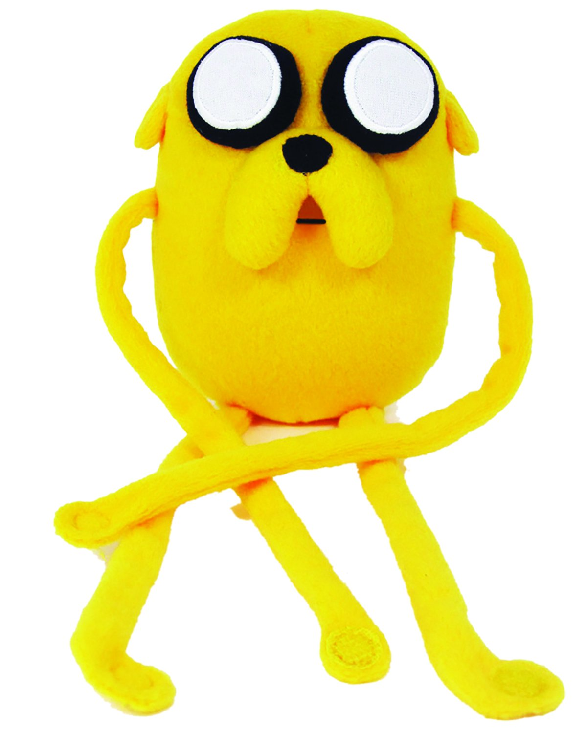 Adventure Time 10-inch Jake Plush Jazwares 14222 Fictional & Fantasy Characters