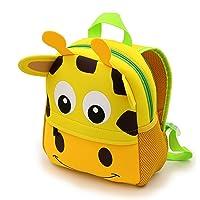 IGNPION Nursery Kids Backpacks Toddle Children School Bag Zoo Lunch Bag 3D Cute Animal Cartoon Preschool Rucksack