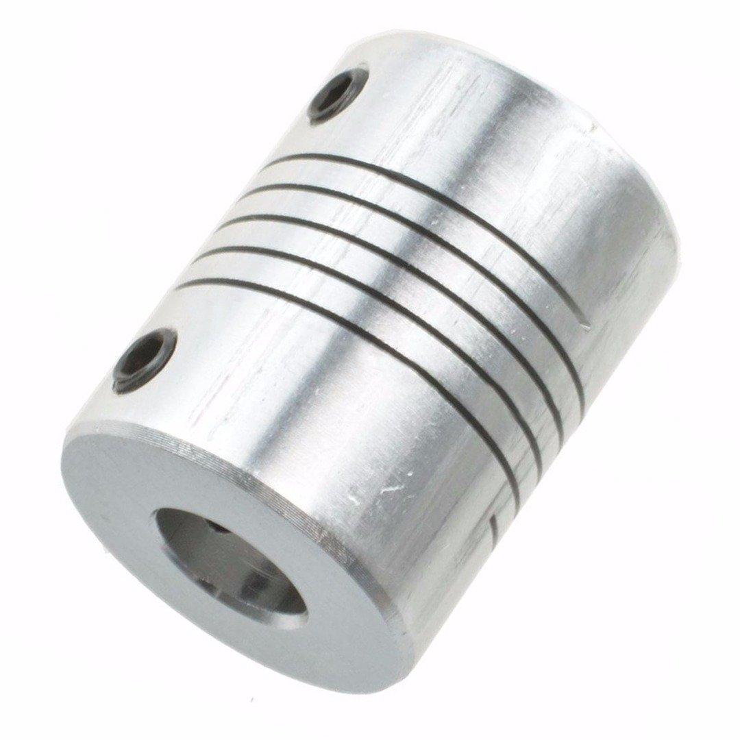 Gelenkverbinder Koppler Motorstecker f/ür 3D Drucker CNC Maschine Schrittmotor Wellenkupplung 5 x 8 mm