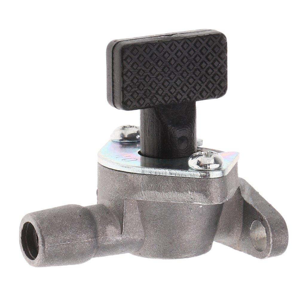 gazechimp Interruptor de Grifo de Combustible Ajustable con Motores de Minimoto Refrigerado por Aire de 47cc Y 49cc