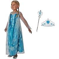 Fancydresswale Delux Quality Frozen Elsa Dress for Girls