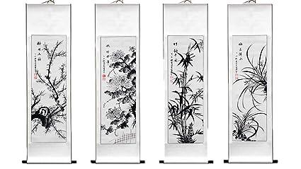 Art Popular Brand Original Chinese Scroll Painting Chinese Painting China Hand Painted Feng Shui