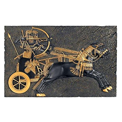 - Design Toscano Assyrian War-Chariot Wall Sculpture