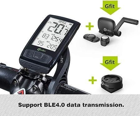 LFDHSF Cuentakilómetros inalámbrico para computadora de Bicicleta ...