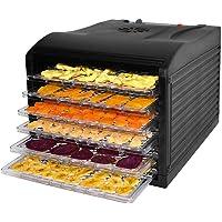 Healthy Choice 6 Tray Food Dehydrator - Black