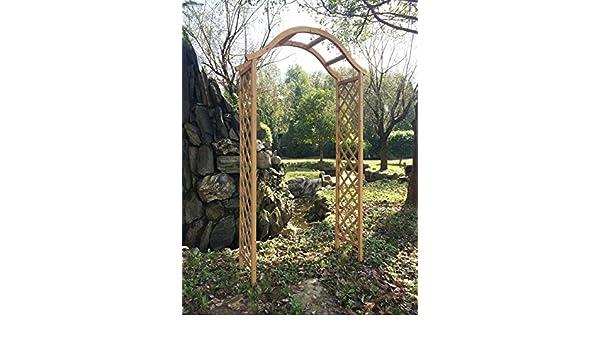 Arco de madera para jardín pérgola enrejado planta apoyo arco en ...