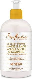 product image for SheaMoisture Coconut Custard Make It Last Wash N' Go Shampoo 13 fl oz, pack of 1