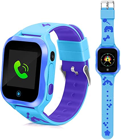 Amazon.com: Smart Watches for Kids Phone Watch Accurate GPS ...