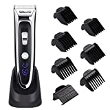 Amazon Price History for:YOHOOLYO Hair Clippers For Men Hair Trimmer LED Display Haircut Kit Ceramic Blade Rechargeable