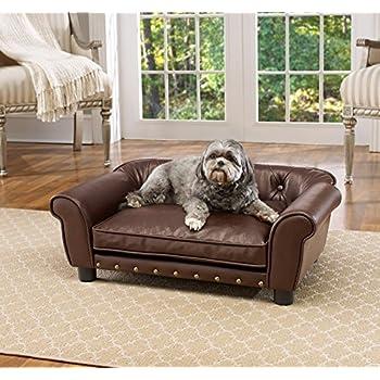 Amazon.com: Enchanted Home Pet Rockwell Pet Sofá: Mascotas