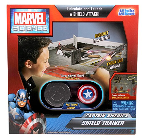 Uncle Milton Captain America Shield Trainer Marvel Science