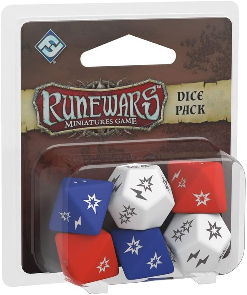 Fantasy Flight Games- Runewars Miniatures Dice Pack - English, Color (FFRWM02): Amazon.es: Juguetes y juegos