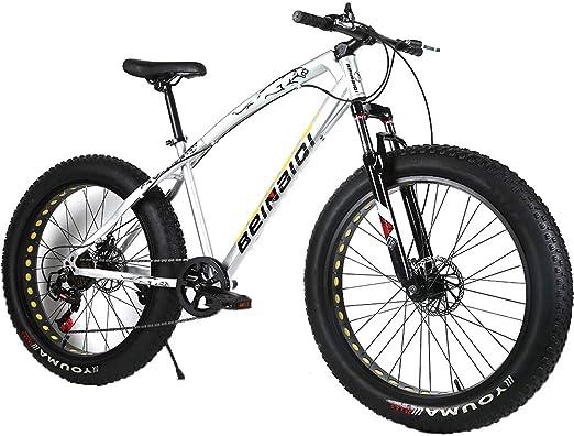 YOUSR Bicicleta de montaña para niños Suspensión Completa ...